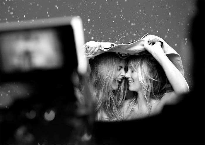 Cara Delevingne i Kate Moss 2