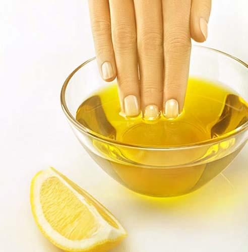 maseczka z oliwy i cytryny