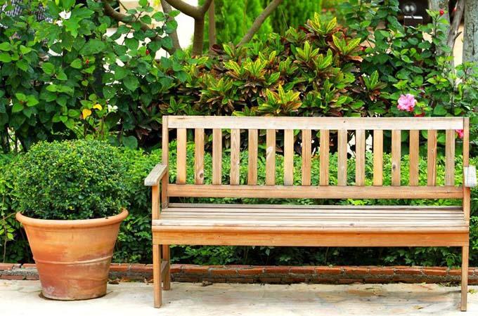 Ławka do ogrodu