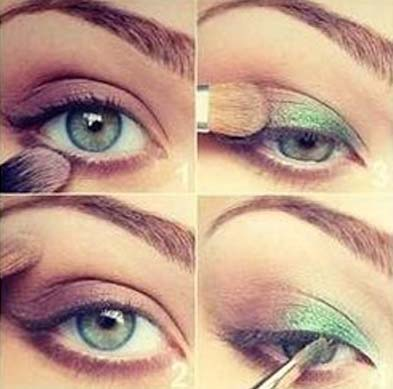 Makijaż z powiewem morskości