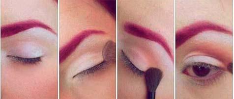 Makijaż dla kobiet kochających czerwień