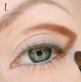 makijaż w szarościach