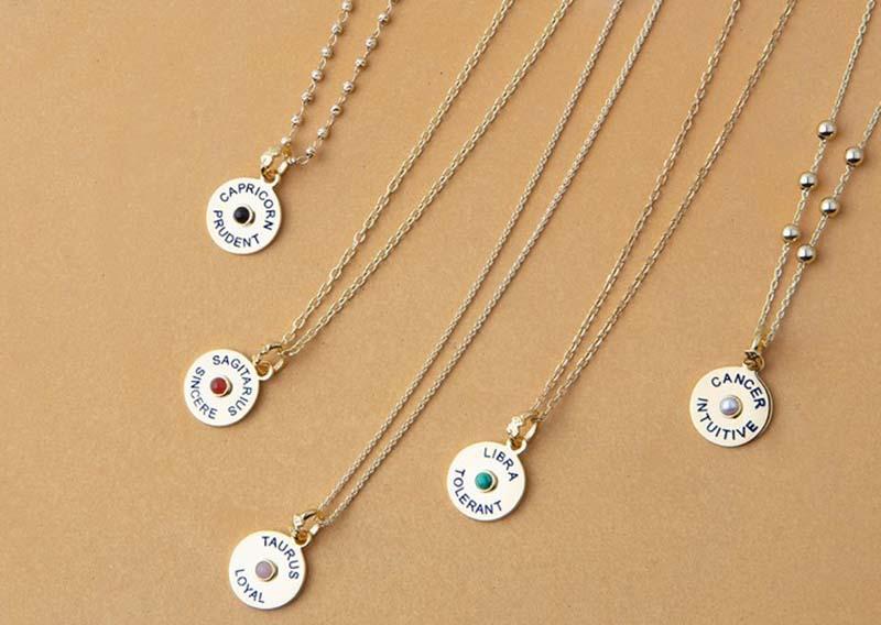 Biżuteria ze znakiem zodiaku