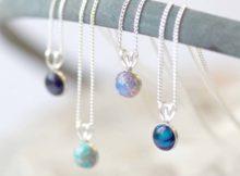 biżuteria z kamieni półszlachetnych